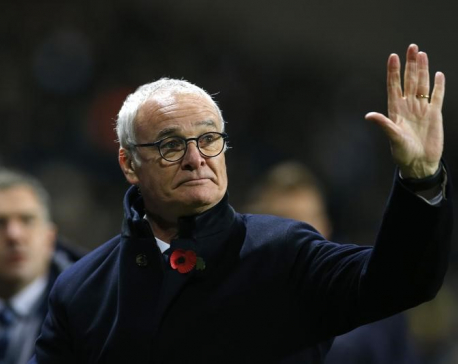 Ranieri's 40-point mantra no laughing matter now for Leicester