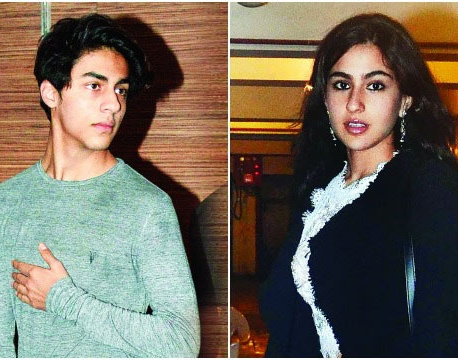 Sara Ali Khan to debut with SRK's son Aryan Khan?