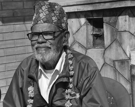 Veteran actor Phuyal collapses on stage, dies