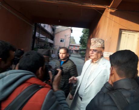 Two assailants tar Karki 's face at SC premises