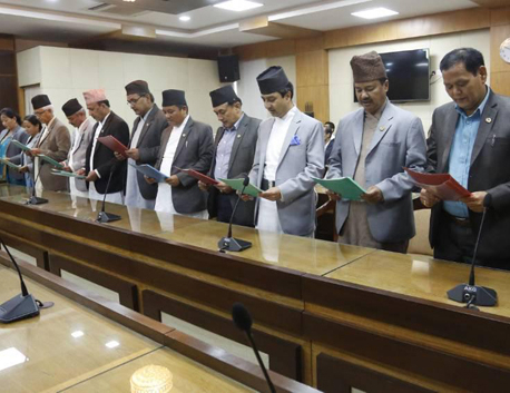 Deuba inducts additional 15 state ministers in his cabinet