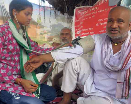 Another man on fast-unto-death seeking better health care for poor