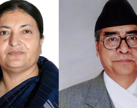 PM Deuba holds meeting with Prez Bhandari