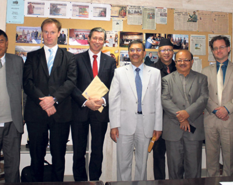 Investment climate in Nepal improving: Belgian envoy