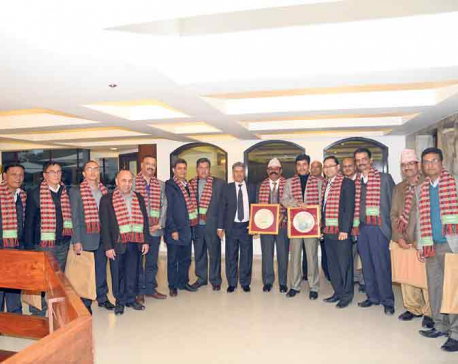 Nabil Bank felicitates staffers
