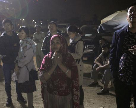 Pakistani police say hotel fire kills 11 in Karachi