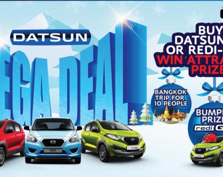 'Datsun Mega Deal' launched