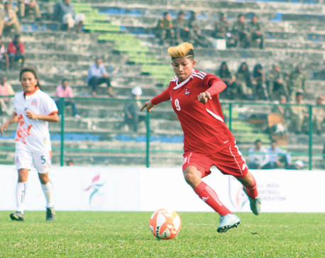 Nepali eves make flying start to SAFF c'ship