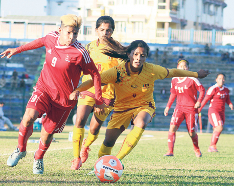 Nepal into SAFF Women's semifinal