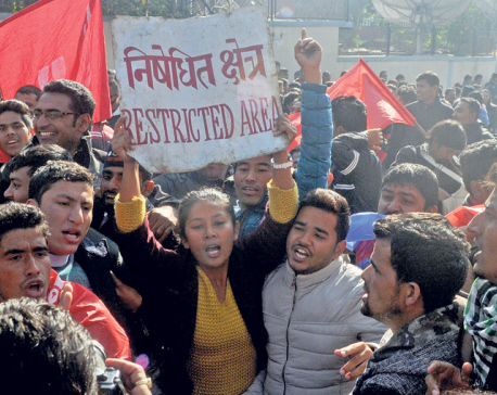 Protests flare in Dang, Dhangadhi during PM's visit