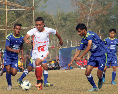 APF into men's football final