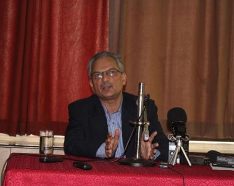 Bhattarai stresses unity among parties