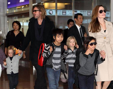 Angelina Jolie wants children to remain close to Brad Pitt