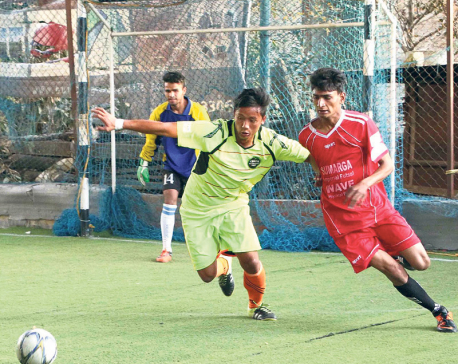 Imperial beats Chaur 8-5 in Red Bull Futsal