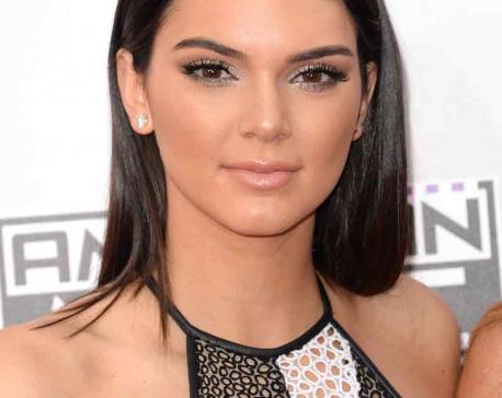 Kendall Jenner praying for Kanye West
