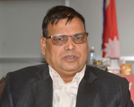 Rolpa locals protest against DPM Mahara