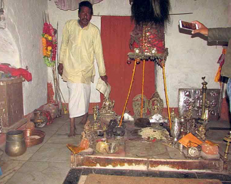 'Stolen' Dattatreya idol found in wardrobe inside the temple