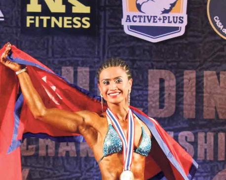 Nanita wins historic bronze