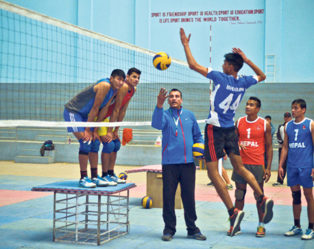 National volleyball team lacks practice match