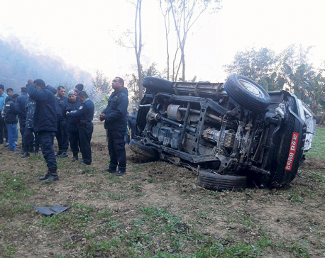 Three including driver killed in accident