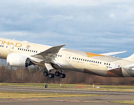 Up to 50 percent off on Etihad's Business Class fares