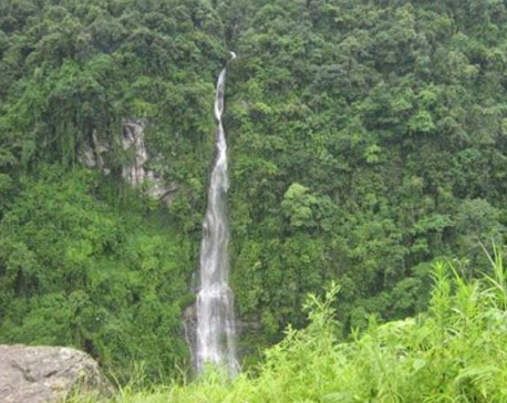 'Longest waterfall' in South Asia in state of neglect