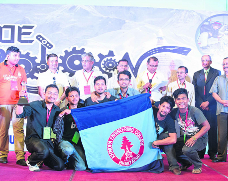 Khwopa wins IOE RoboCon 2016