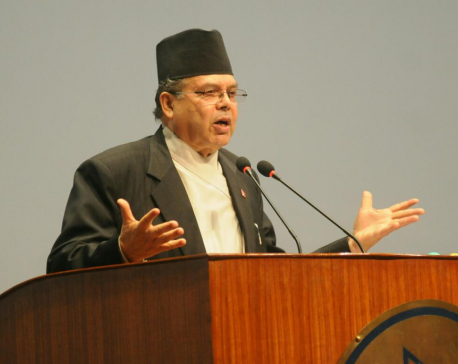 Former PM Khanal presents 23 development plans