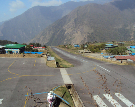Flights to and from Lukla and Faplu Airports obstructed since June 15
