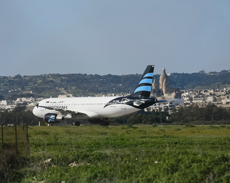 Passengers from hijacked Libyan plane leave Malta for home