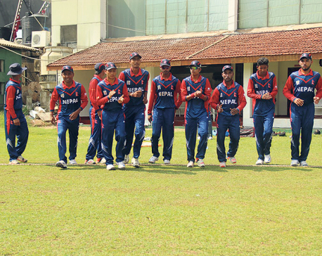 Nepal chasing 154 runs target against Malaysia