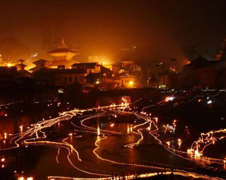 Hindus observe Bala chaturdashi (Photo Feature)