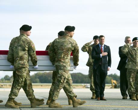 NATO: Blast inside US base in Afghanistan kills 4