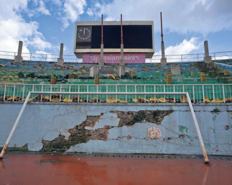 At least three years required to repair Dasharath Stadium