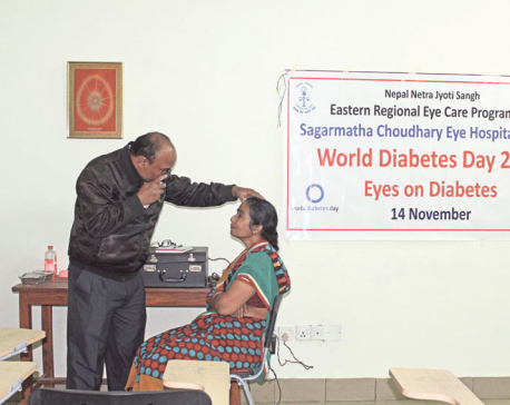 More patients losing eyesight due to diabetes