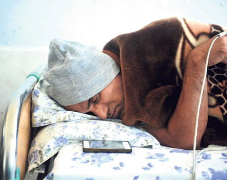 Dr KC's condition worsens