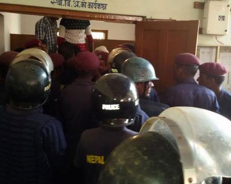 UDMF, UML cadres clash in Gaur
