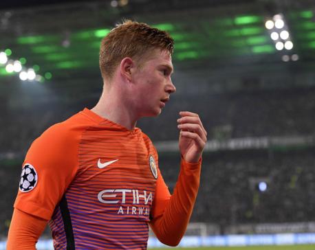 Barca advances as Bayern, City settle for runner-up spots