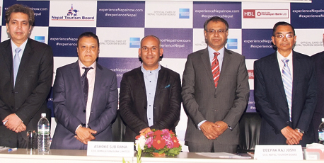 NTB partners with Himalayan Bank, American Express