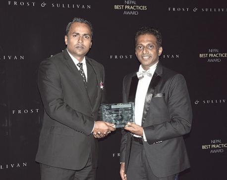 Nepal Life Insurance Company bags Frost & Sullivan award