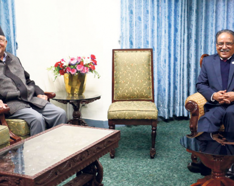Dahal expedites interparty talks on amendment