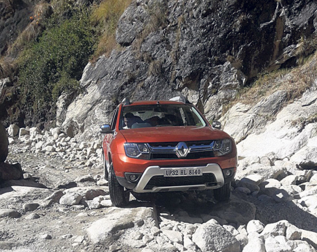 Indian national drives car to Rara Lake shores