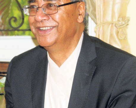 Gvt change is not issue of priority: NC Prez Deuba