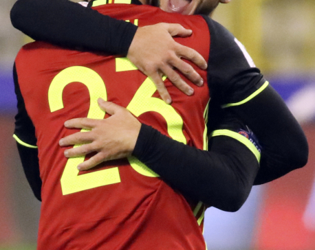 8-goal Belgium rout in WCup qualifier; Ronaldo settles for 2