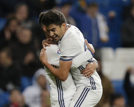 Zidane's son scores as Madrid routs Leonesa 6-1 in Copa