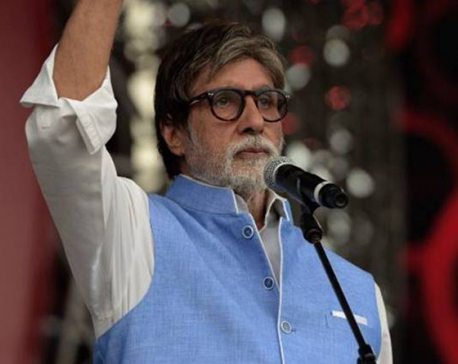 Amitabh Bachchan urges poverty eradication ahead of Coldplay concert