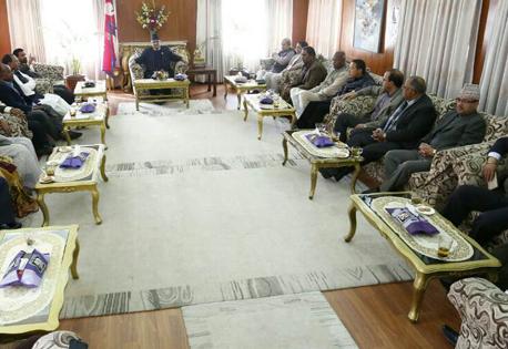 PM Dahal urges UDMF to support constitution amendment bill