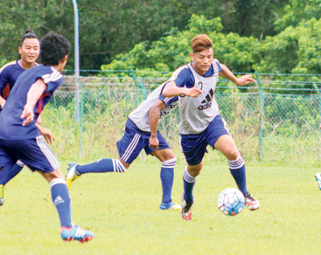 Team Nepal eyes trophy of maiden AFC Solidarity Cup