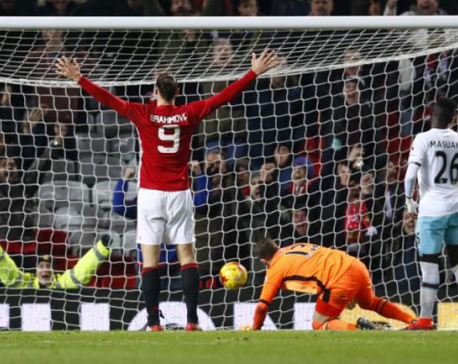 Man United sweep past West Ham, Arsenal ousted by Southampton