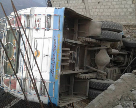 12 injured in Kalikot bus accident